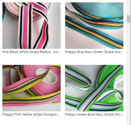 #Preppy #preppyribbon #striperibbon #GreenRibbon #Ribbon #LillyPulitzer #VintageDesigner Stripe Ribbon by the Yard. #MadeinUSA #DIY #DIYTote #sewing #homesewing #DIYbag https://etsy.me/39Hm1vt pic.twitter.com/EuErkzvmv1