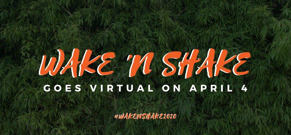Wake 'N Shake Dance Marathon goes virtual this Saturday! Here's how to get involved  ➡️ https://t.co/PB1A1StOBW💃 🕺 💃 🕺 💃 🕺 💃 🕺#WakeNShake2020 #ProHumanitate #WakeFromHome