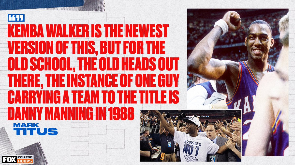 Before Kemba Walker, it was all about Danny and the Miracles 👏👏
