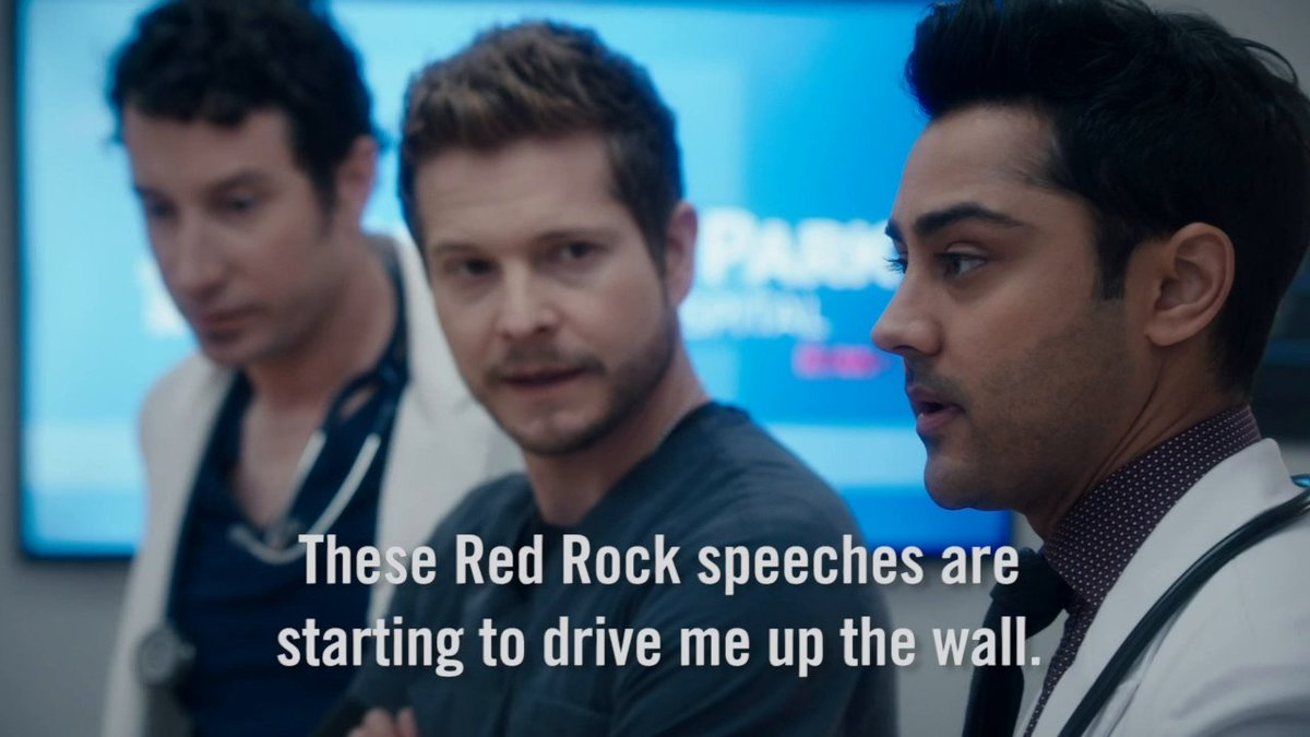 Nolan is ALL of you any time Kim or Cain get mentioned. 😂 #TheResident