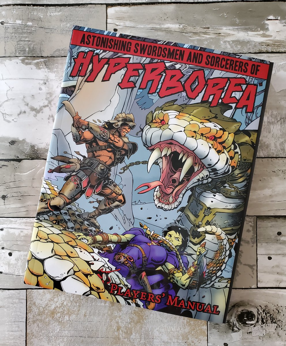 HYPERBOREA Players' Manual GIVEAWAY, signed by the author! Ends 4/13/20, midnight US EST.   3 Simple Rules for Entry: FOLLOW this page, RETWEET this post, REPLY to this post. Winner chosen randomly! Bots not accepted. Ships anywhere!  #hyperborea #rpg #ttrpg #giveaway #northwind<br>http://pic.twitter.com/CmZltuw3TT