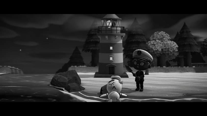 """Say, why is it bad luck to kill a gull?"" ""In them's the souls of sailors what met their maker."" #AnimalCrossingNewHorizon #TheLighthouse pic.twitter.com/6iL3wAWXxd"