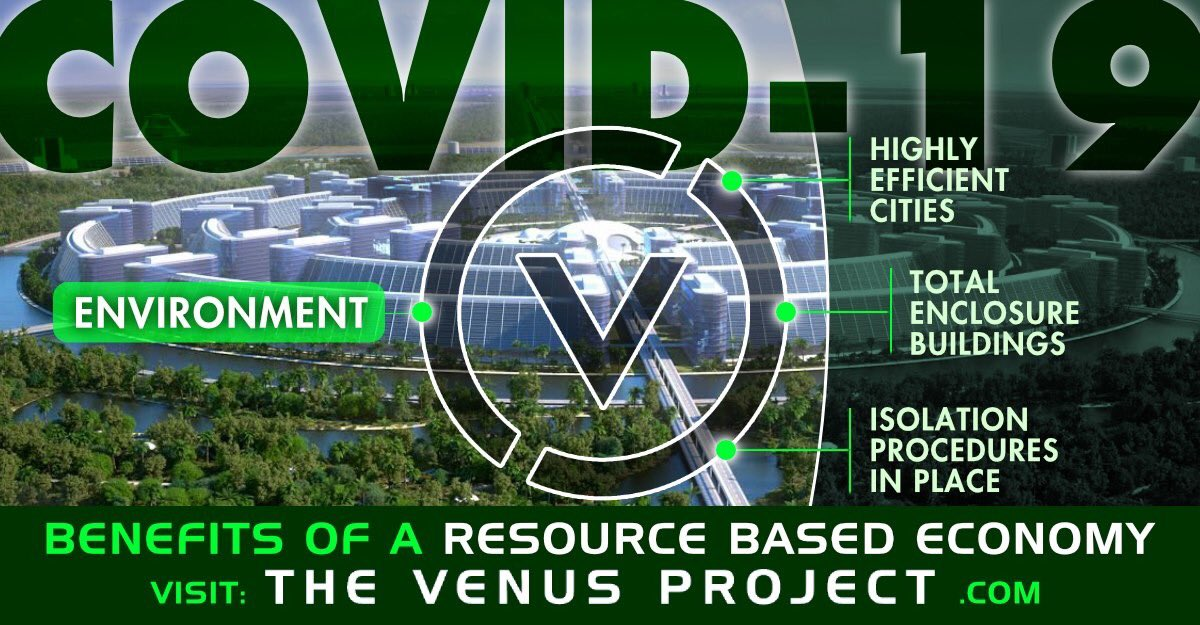 If we applied the same efforts of scientific mobilization toward social betterment as we do during a war or disaster, large-scale results could be achieved in a relatively short time. #COVID19 #Coronavirus #TheVenusProject #TVP #ResourceBasedEconomy #RBE   https://t.co/0VESo7o88G https://t.co/zYIUx802Xk