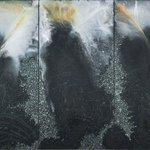 Image for the Tweet beginning: Barbara Takenaga's paintings inquire into