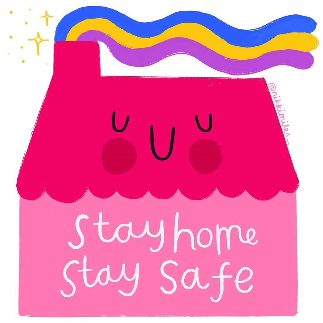 "Action for Happiness on Twitter: ""Stay home, stay safe. Be kind to ..."