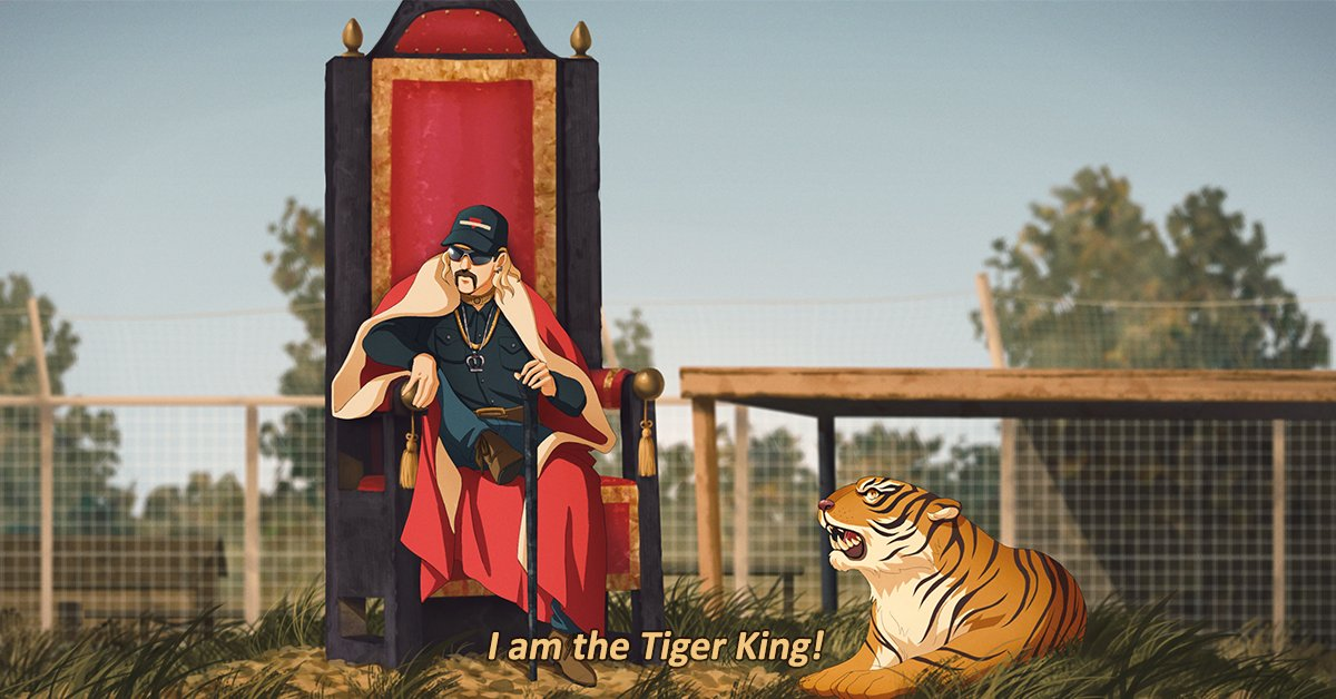 because literally no one asked for it...here is Tiger King as an anime.