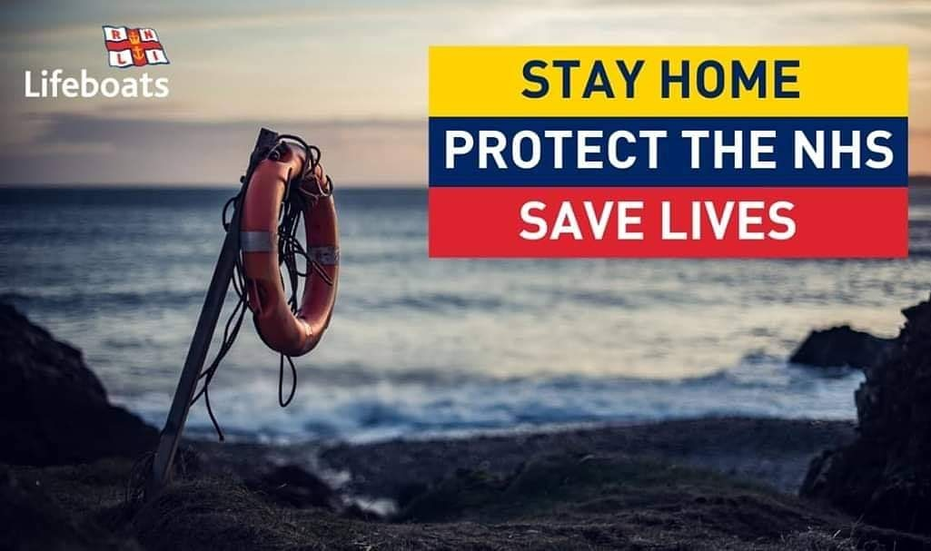 The weather forecast may be good for the weekend and into next week and you may be tempted to visit the coast.... PLEASE DONT! The government have given us instructions to STAY AT HOME. Please do as the say. You will be protecting the NHS and saving lives. #stayathome