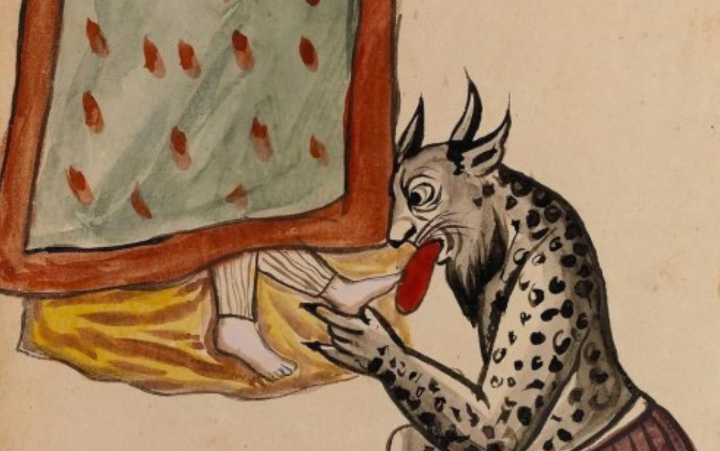 The Foot-Licking Demons & Other Strange Things in a 1921 Illustrated Manuscript from Iran @OpenCulture - https://shevi.be/39unlSkpic.twitter.com/V0ycF3D2L5