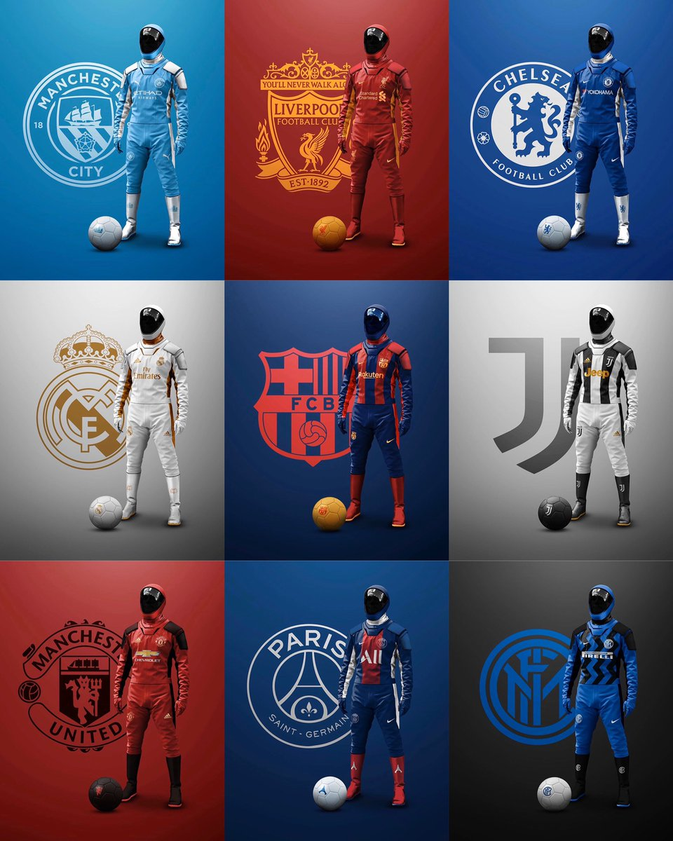 Cual es su kit favorito para esta pandemia cracks? #Tiitanes #soccerdrills #soccerskills #soccertraining #pandemia #covid19 #stayathome #mequedoencasa #barcelona #realmadrid #juventus #psg #manchesterunited #manchestercityfc #chelseafc #liverpoolpic.twitter.com/zigBFJ9WLF