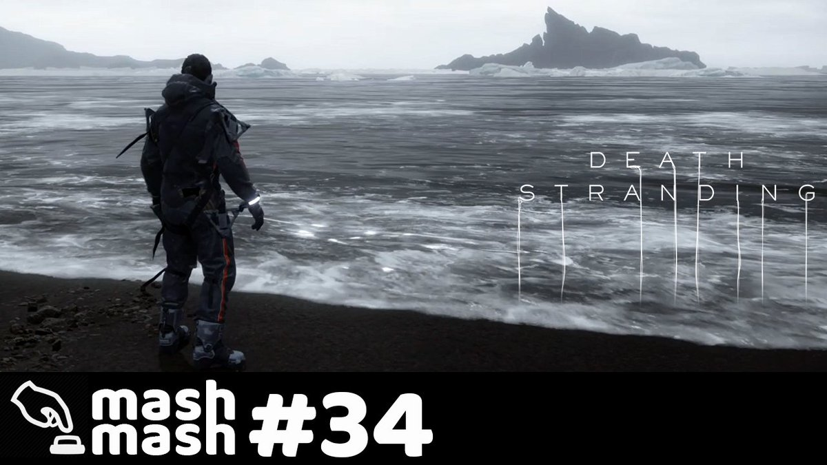 A losing contender for the youtube video thumbnail.  Death Stranding Part 34 - the first final credit roll.  http://bit.ly/MashDS34  #DeathStranding #moody #YoutubeGaming #smallyoutubercommunity #smallyoutubers #Playstation #PS4sharepic.twitter.com/MbWrQNf2xC