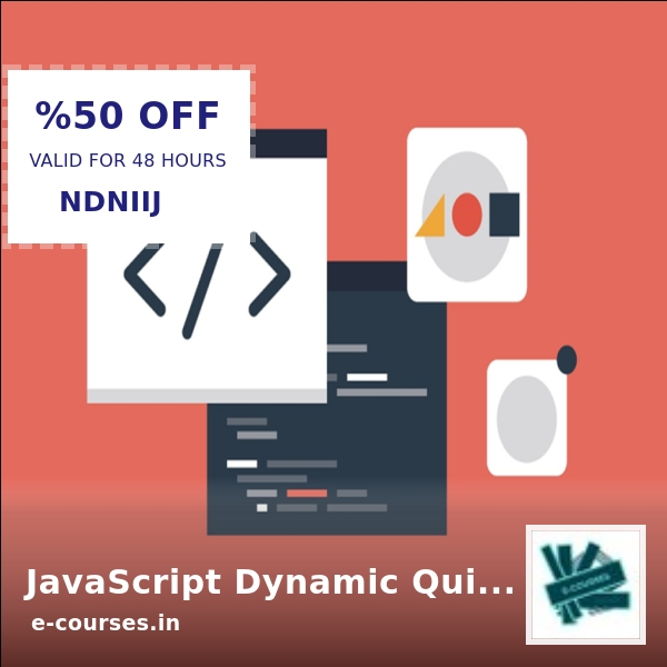 Looking for a steal? JavaScript Dynamic Quiz Application from Scratch JSON AJAX is now selling at Rs. 243.99 .  Grab it ASAP https://shortlink.store/CUZxtuWEDy  #ecourse #e-courses #elearningpic.twitter.com/Ak12PnQ4PC