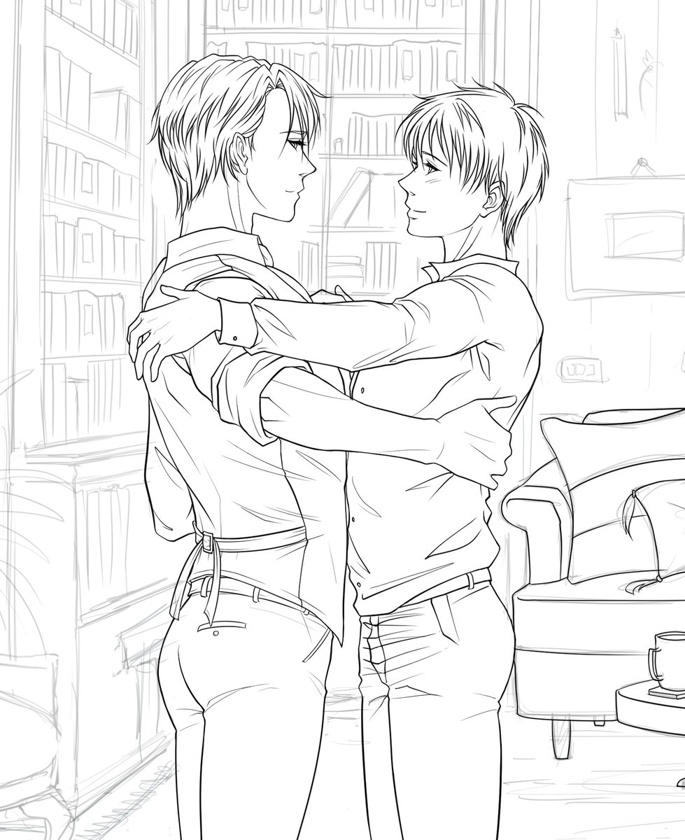 Coming back to work on Clip Studio Paint :)  #workinprogress #commissionart #YuriOnIcepic.twitter.com/yp5yo4AFER