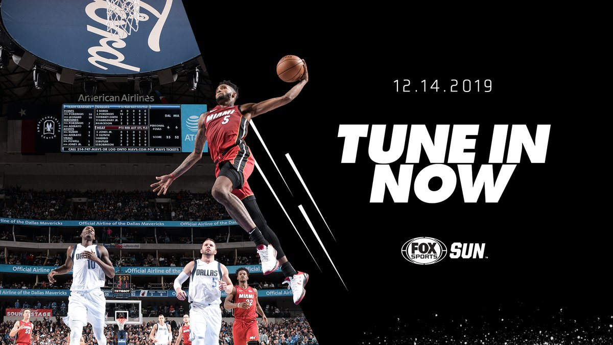 Tune in to @FOXSportsHEAT right now for some Friday night 🏀 action! #MIAvsDAL | #HEATrewind
