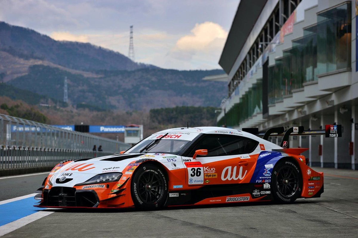 Not on track anytime soon, but she's looking beautiful and ready #stayhome #staysafe #racing #supergt #japan pic.twitter.com/seXlsH7Gze