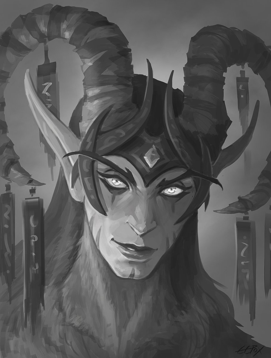 Eepox On Twitter Zaithir A Female Satyr I Gave Her Appearance My Own Twist Since We Don T Have Female Satyr Models In Game And There S Very Little Art Of Them Worldofwarcraft Warcraft Satyr