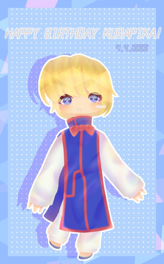 Hey, it's Kurapika's birthday 4.4.2020 #Winter  #hxh #kurapika