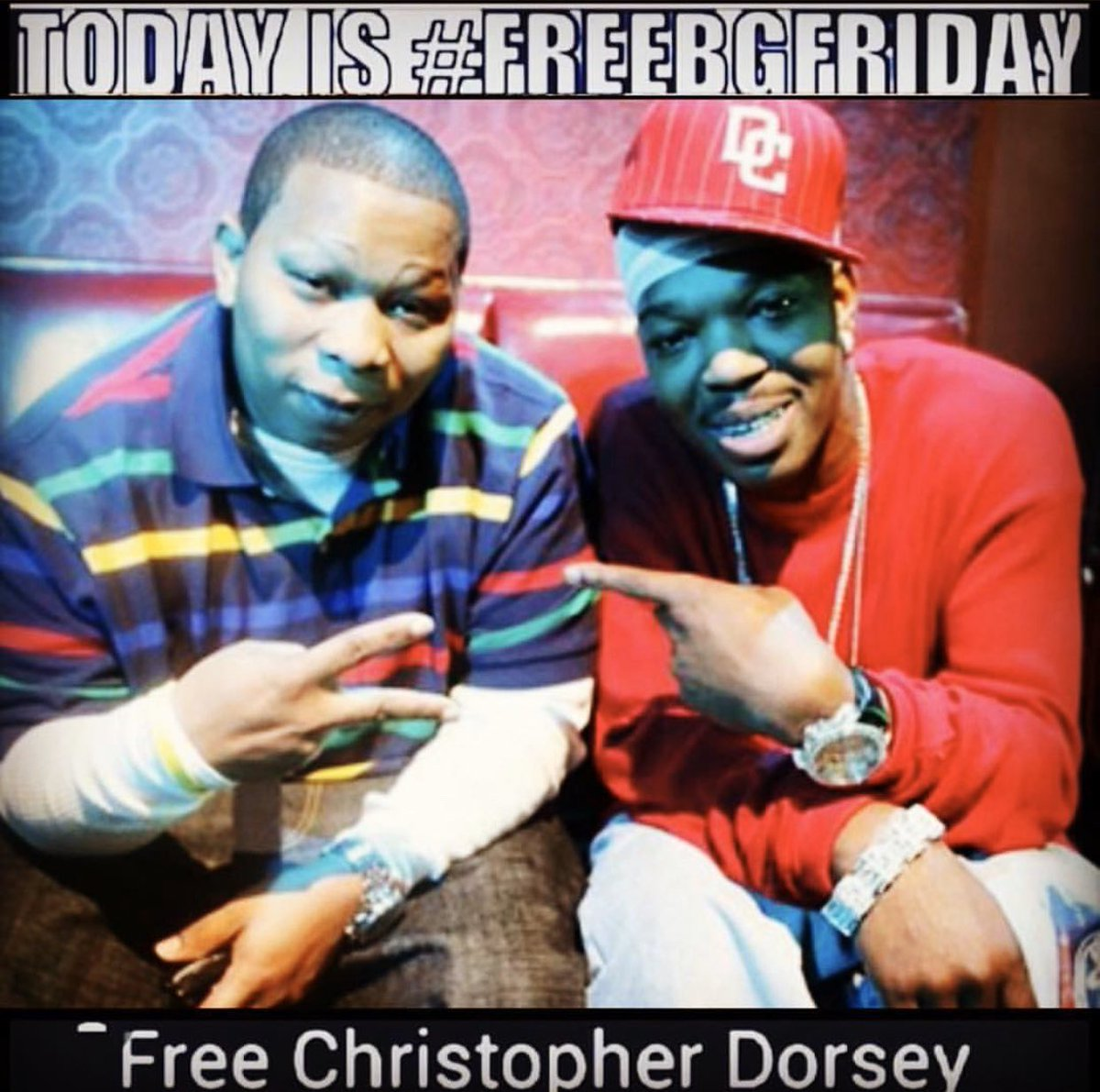Y'all know what it's hitting for #FreeBGFriday #YaDigg 💯 @manniefresh been the #HoodChamp 💪🏽 the #streets know what's up #RNS 💯  #FreeBG #FreeBGEveryday #FreeBGizzle #1OriginalHotBoy 🔥 #ChopperCity #LouisianaLandLord #Soon 🙏🏾 ⌛️