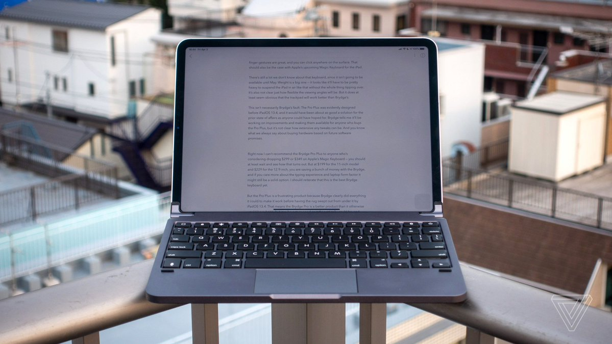 Brydge Pro Plus review: an almost awesome iPad laptop
