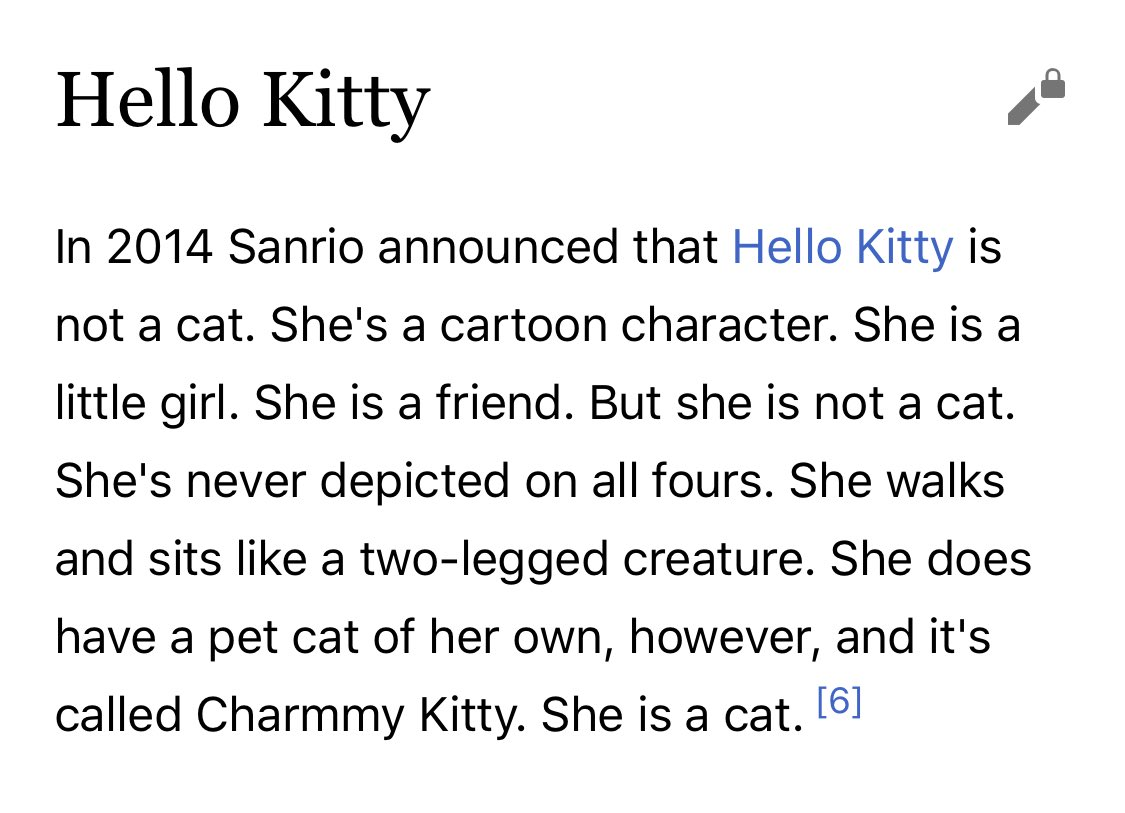 This might be the best thing I've ever read on Wikipedia. cc @meganamram