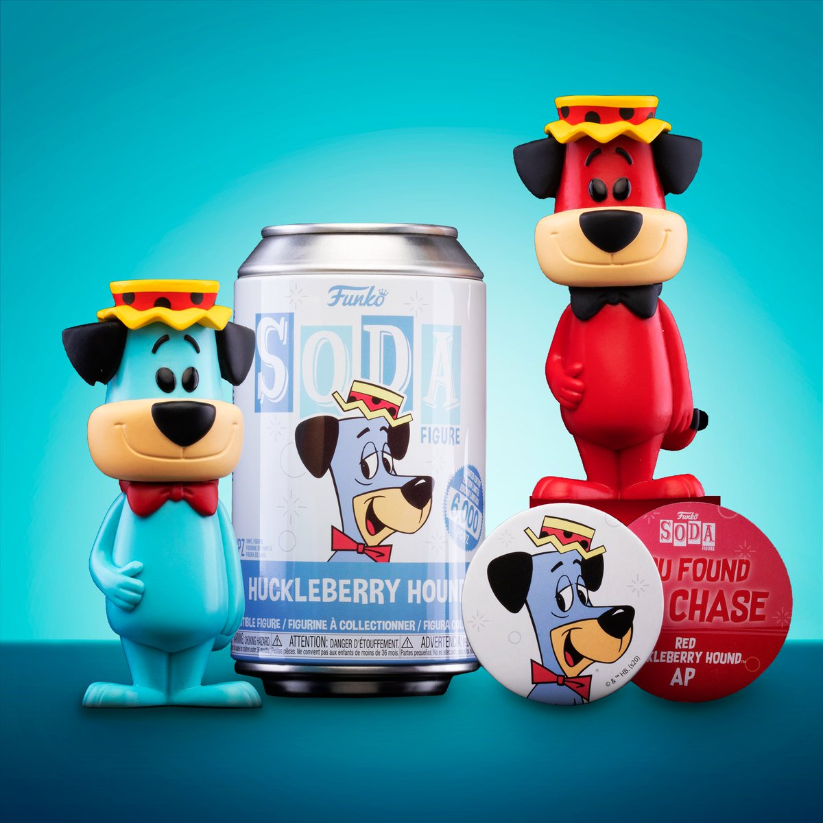 S, S, S, Soda! What characters would you like to see next? #Funko #FunkoSODA #HuckleberryHound