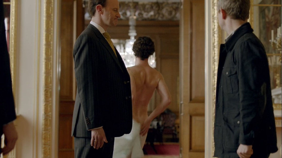 Sherlock star only offered nude roles