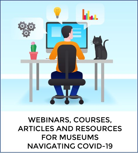 We have added several new links to our list of Webinars, Courses, Articles and Resources for museum professionals navigating Covid-19.  The link is below.  http://museumsavvy.com/museum-savvy-blog/articles-webinars-and-resources-for-museum-professionals-during-covid-19…  #museums #museumlife #whenyouworkatamuseum #curator #publichistory #artconservation #archivespic.twitter.com/STnWFrexWx