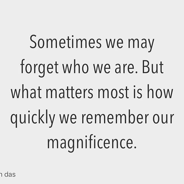 Reposting @axtschmiede: - via @Crowdfire  Sometimes we may forget who we are. But what matters most is how quickly we remember our magnificence. . . . #quotes #motivation #quote #inspiration #quoteoftheday #motivationalquotes  #linkinbio #dailyquotes #inspirationalpic.twitter.com/SPFiCKW1hD