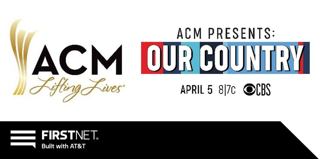#ConnectedTogether - We are proud to support with ACM Lifting Lives® COVID-19 Response Fund to present ACM Our Country. Watch this Sunday, 4/5 at 8/7c on CBS to see how ACM Lifting Lives® strives to improve lives through the power of music. Learn more: http://my.firstnet.com/21d894f7