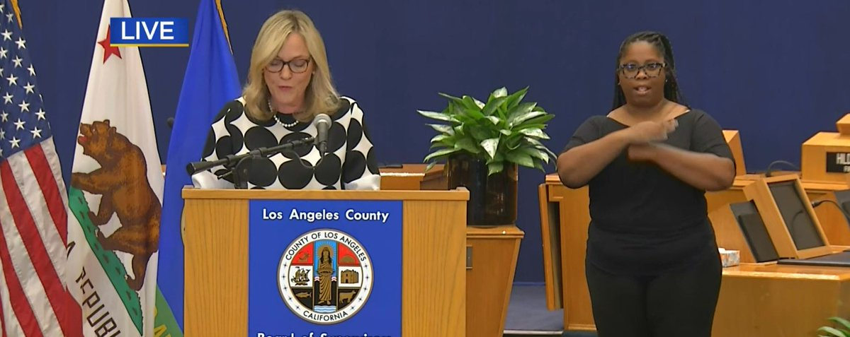 #LIVE: Los Angeles County health officials hold daily coronavirus briefing. cbsloc.al/34cOM1N