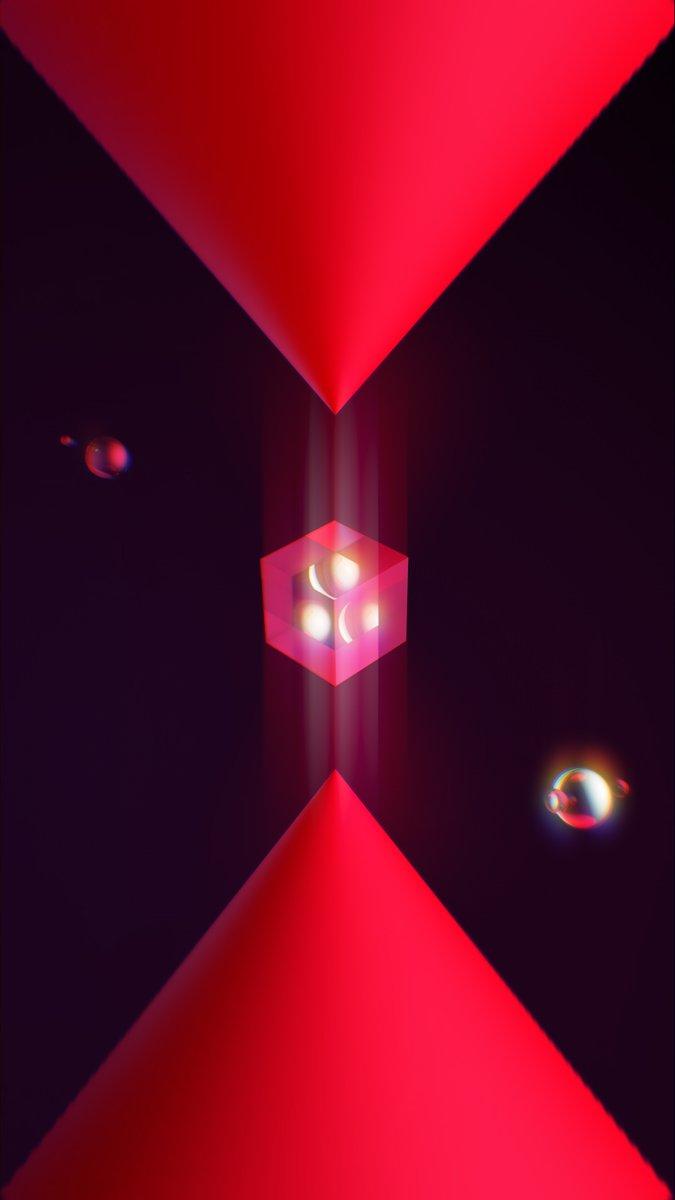 Nuevo fondo de pantalla de regalo.  Compartan si les gusta   CubeZone   #Render #Cinema4D #3DArt pic.twitter.com/hrJcGijbmn