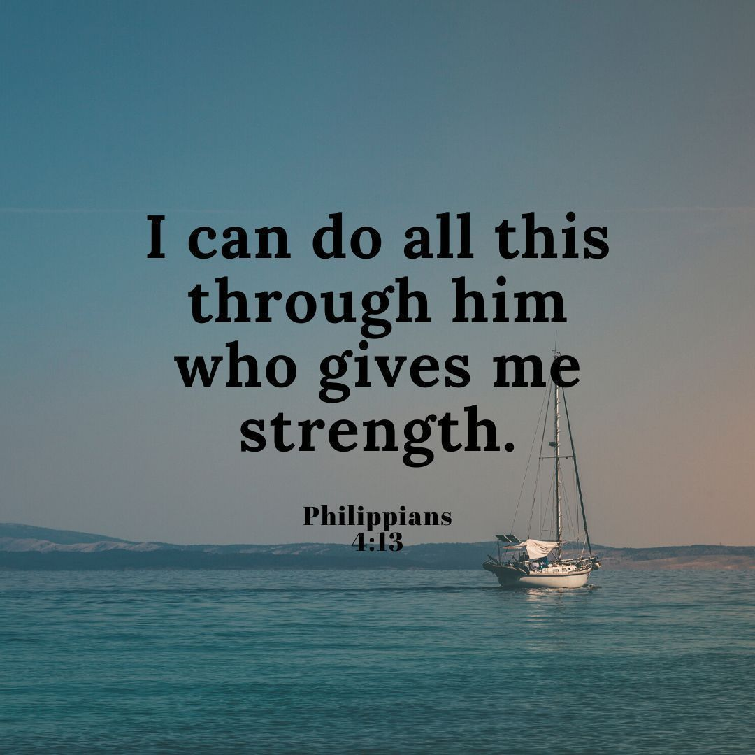 """I can do all this through #Him who gives me #strength."" #Phillippians 4:13 #inspiration #blessings #psalm #inspirationalpic.twitter.com/LDaqgK28L6"