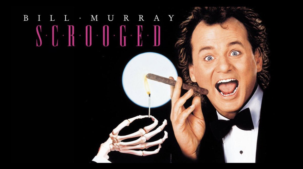 """On a Scale of 1-10  1 Being Horrible & 10 Being Amazing What Would You Rate the 1988 Movie """"Scrooged?""""  #Scrooged #BillMurray #Movies #Movie #Action #Comedy #Horror #Film #Cinema #1980s #80s #80sThen80sNowpic.twitter.com/Uak2oaoOLE"""