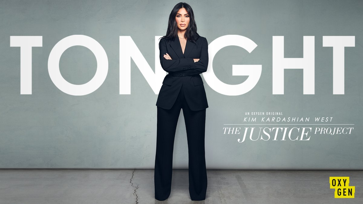 Are you ready? #KKWTheJusticeProject with @KimKardashian West premieres TONIGHT at 7/6c only on @Oxygen!<br>http://pic.twitter.com/eUy90eb1zj