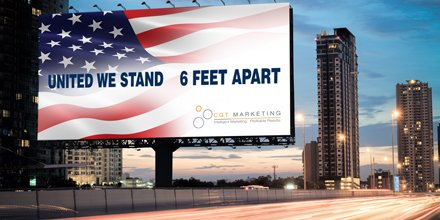 The CGT family stands together with our clients…but just 6 feet apart!     During these current confusing times, we are here for you.    Have any questions, concerns? Don't hesitate to reach out to us. https://t.co/V300jdIH3s