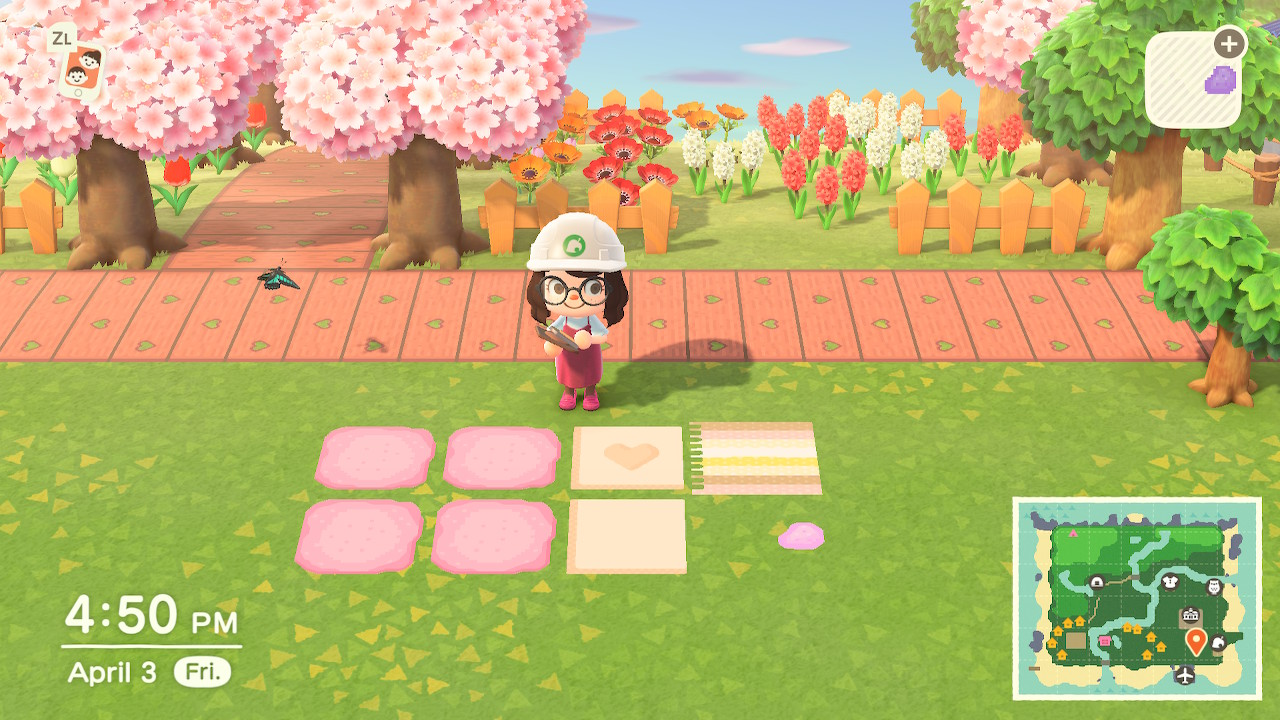 Can Someone Explain The Point Of The Custom Design Permit For Path Building The Bell Tree Animal Crossing Forums