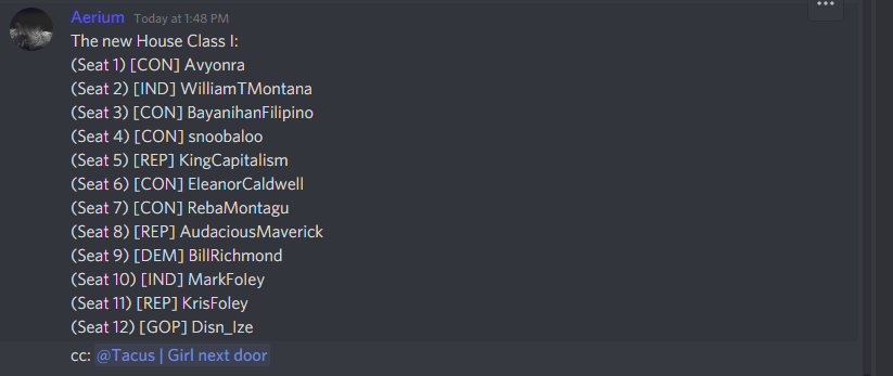 It is my greatest honor to serve as your next Representative, America! Thank you all for your continuous support.  (Congratulations to the 11 others who have made it in, I am truly excited to work with you all!)