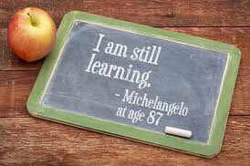 Learning never stops! That's one of life's great joys! And there are so many ways to learn!