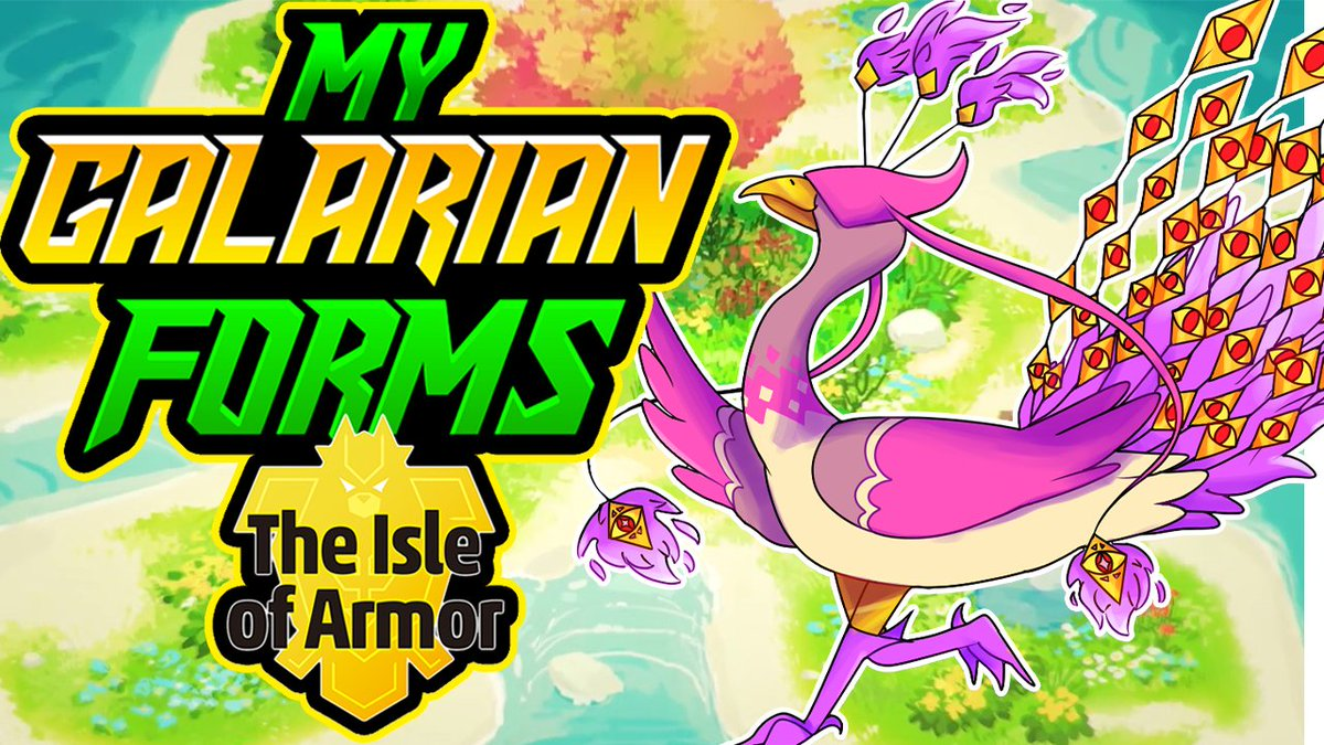 New video! featuring my very own original Galarian Forms for the DLC! Featuring my artist!  #PokemonSwordandShield #Isleofarmor #PokémonSwordandShielddlc #GalarianForms #Galar #smallyoutuber #smallyoutubercommunity #smallyoutubers  #SmallYouTuberArmy   https://youtu.be/_BJo9fNNxMIpic.twitter.com/cagbp9vNd2