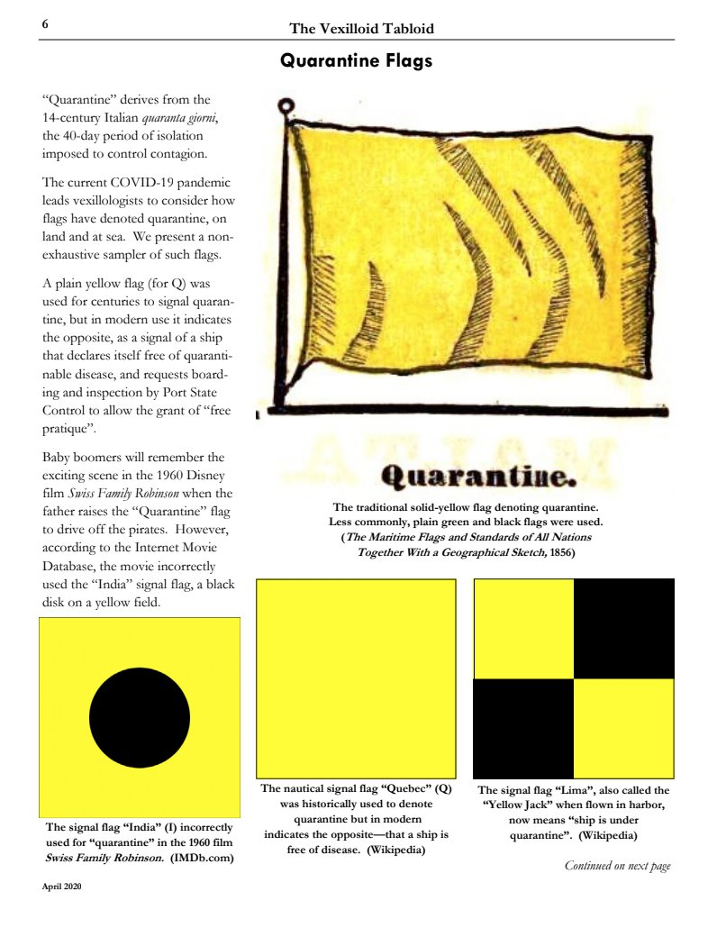 Thomas Le Bas On Twitter Vexilloid Tabloid 81 By Portlandflag Coming Through With The Goods On Quarantine Flags Covid19 Vexilollogy