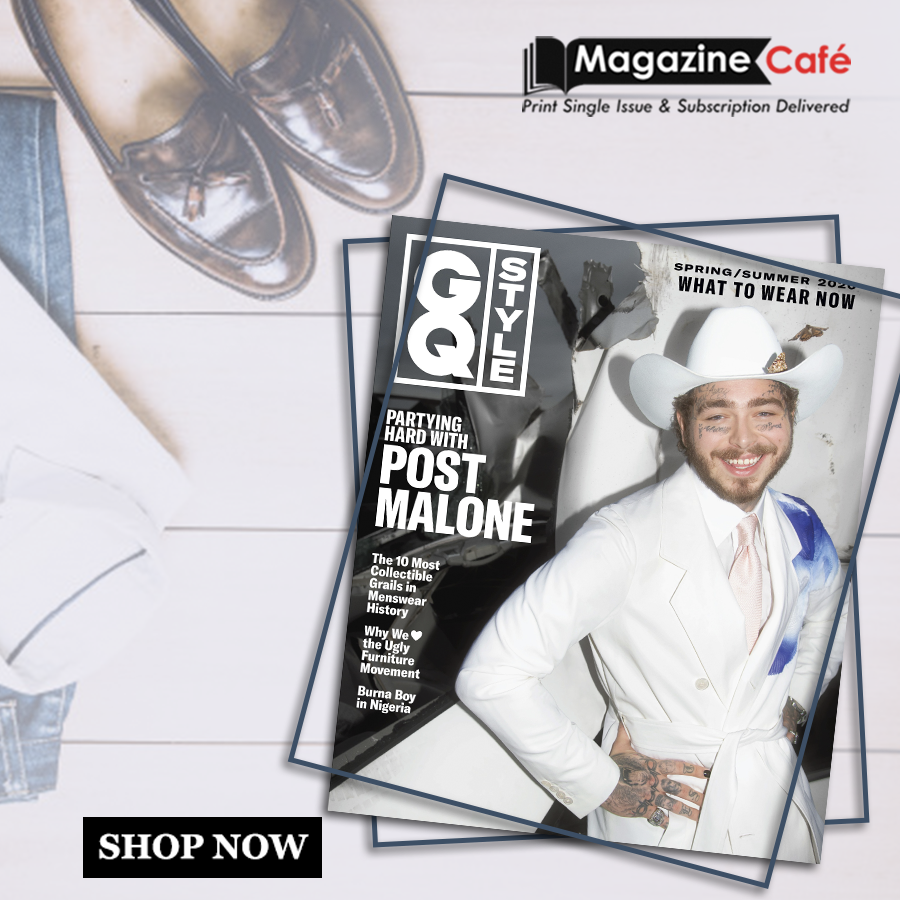 GQ Style is a comprehensive guide to all the latest trends that are shaping the future of men's fashion. Get yours from https://www.magazinecafestore.com/gq-style-us-magazine.html… #menslifestyle #mensfashion #GQStyle #US #Post $Malone#menswear #mensoutfit #fashion #men #fashionblogger #ootdmens #mensootd #menshairpic.twitter.com/vrOuuHZz26