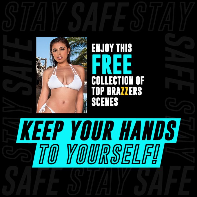 Self-isolate with my hand-picked favorite scenes and enjoy hundreds more from the @Brazzers family for