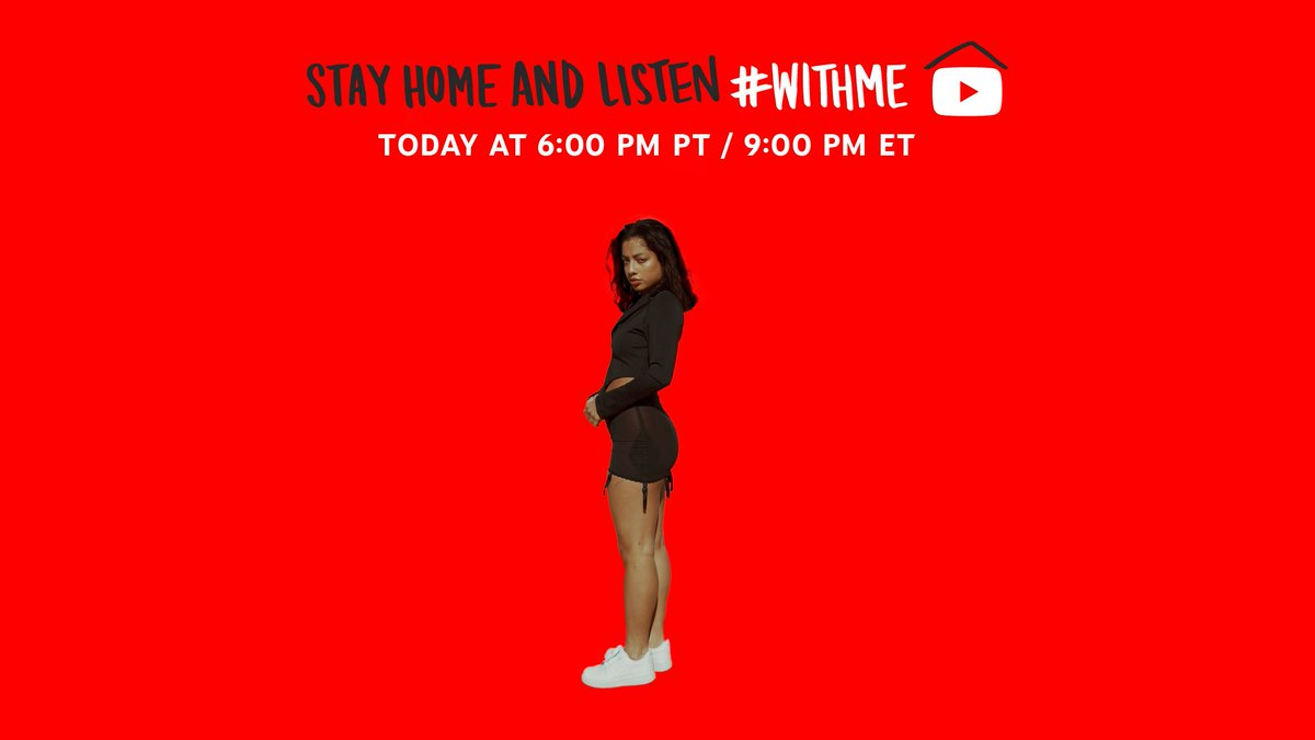 🔴 [LIVE]:'s #KikiReleaseParty is starting now 🎉 #StayHome and celebrate #WithMe → yt.be/music/KianaLede