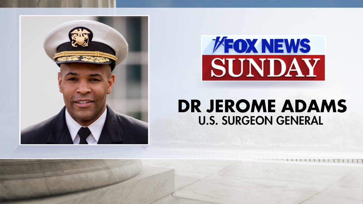 Big FOX News Sunday this week, Chris sits down with: @Surgeon_General @GovWhitmer @BillGates