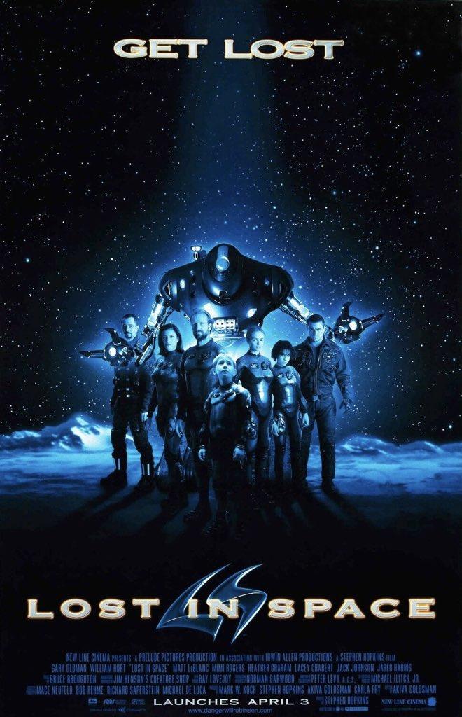 MOVIE HISTORY: 22 years ago today, April 3, 1998, the movie 'Lost in Space' opened in theaters!  #WilliamHurt #MimiRogers #HeatherGraham #LaceyChabert #JackJohnson #MattLeBlanc #GaryOldman #DickTufeld @JaredHarris #LennieJamespic.twitter.com/2ARkW9wIyL