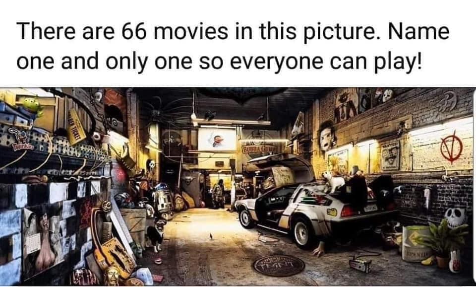 Can you name one of the movies? :p  #FridayVibes #Movies pic.twitter.com/Ezdz9LGwKJ