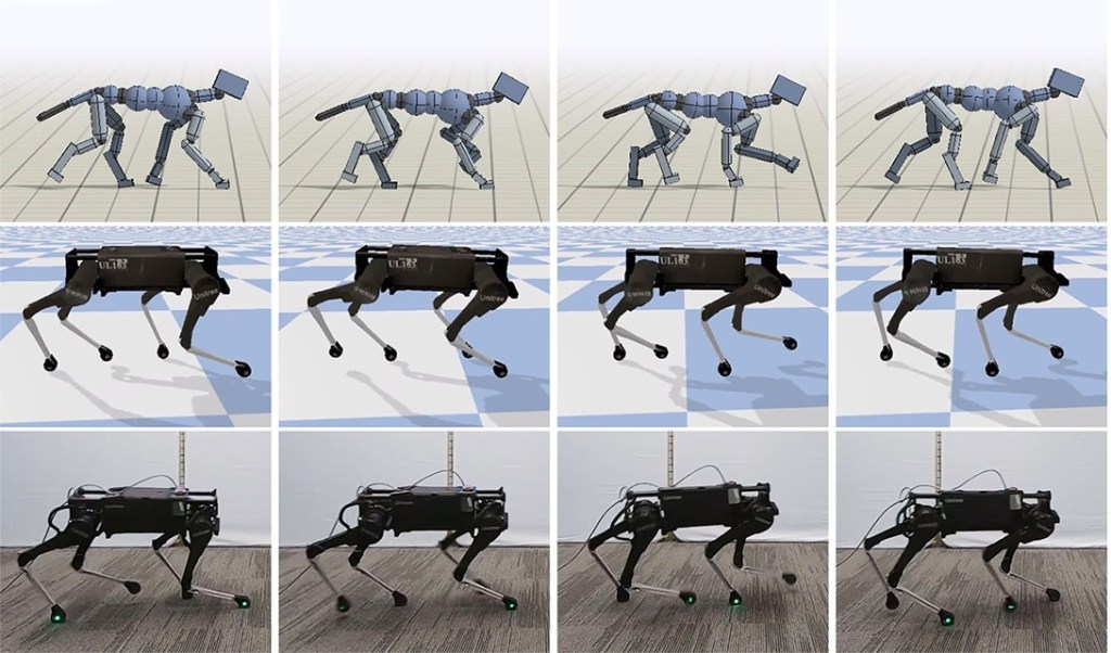 Google research makes for an effortless robotic dog trot