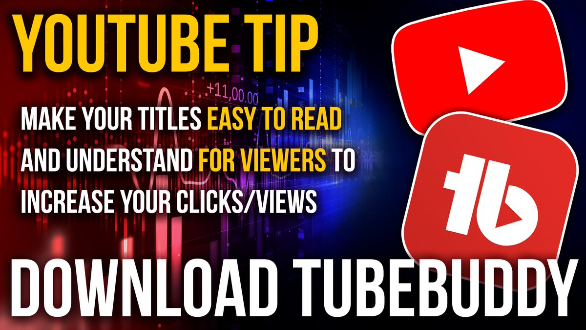 #YouTubeTip Make Your Titles Easy to Read and Understand for Viewers But also use at least 1 KEYWORD PHRASE. https://bit.ly/2SJQUMh  (referral)  DOWNLOAD FOR FREE! Or use my 20% OFF DISCOUNT CODE:  robertosbuddy  #YouTube #SmallYouTubers pic.twitter.com/sEjBxkWgaM