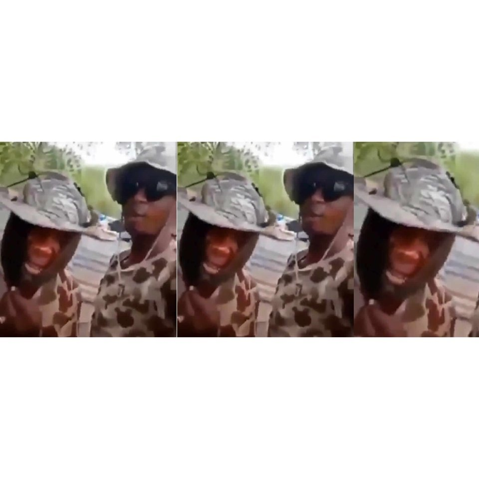 Delta government says video of soldiers threatening to rape and infect women in Warri with HIV is fake https://gistnaija.ng/2020/04/03/delta-government-says-video-of-soldiers-threatening-to-rape-and-infect-women-in-warri-with-hiv-is-fake/ …pic.twitter.com/LCbbEpvFC3