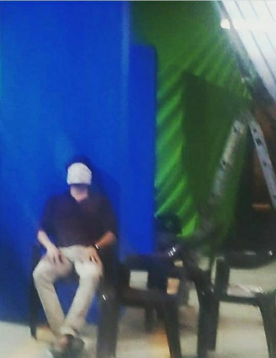 This Man never cared about Caravan Seeing the green screen on the backside I think lot of VFX on offer in Lift . Coronavirus spoiled our celebration illana this time teaser vandurukum Namma mass pannirkalam. #Kavin #Lift<br>http://pic.twitter.com/GaEE7S4KAY