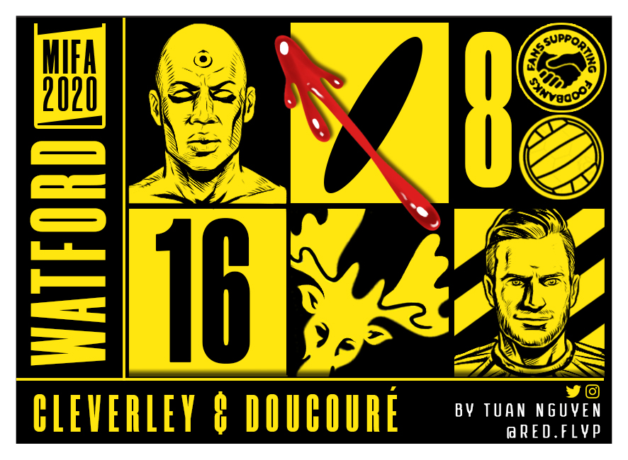 #MIFA2020 #WATCHMEN #WATFORD #comic #football #watfordfc #tomcleverley  @davewi11 @WatfordFC @abdoudoucoure16 https://t.co/tbGx0206f0